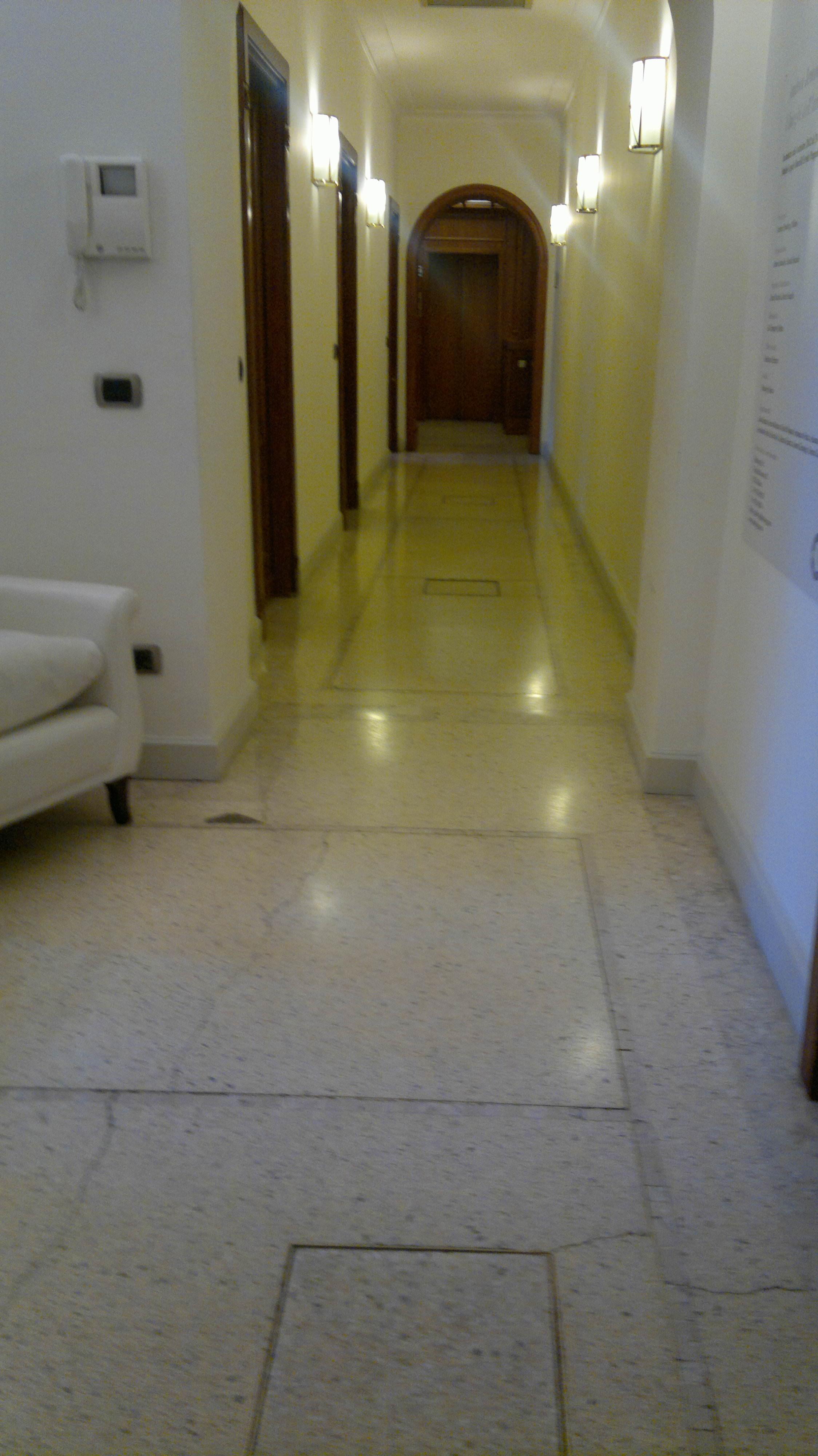 Levigatura pavimentazione in graniglia