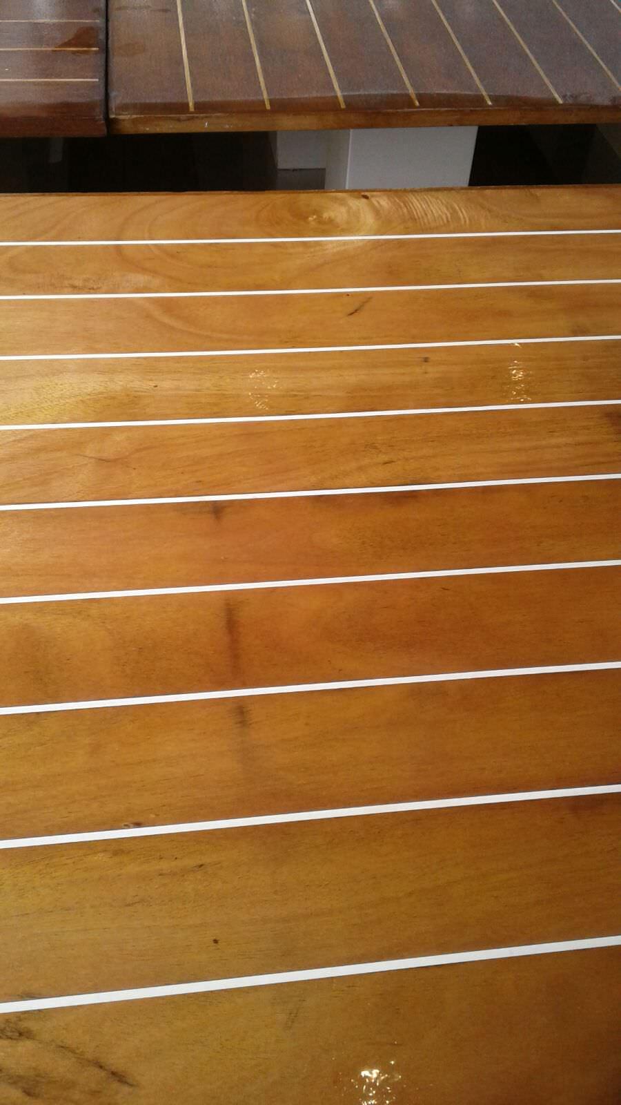 trattamento tavoli in legno